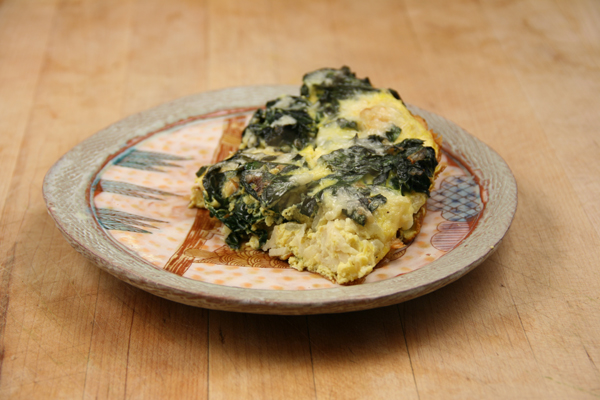 Turnip & Greens Frittata