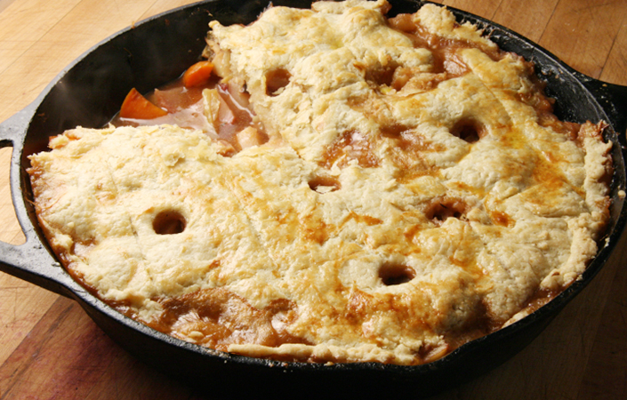 Roasted Root Vegetable Pot Pie