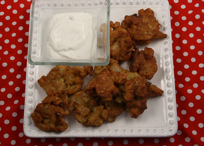 Root Vegetable Pakoras