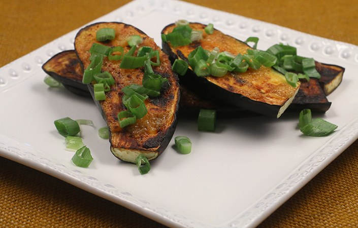 Miso Glazed Eggplant by Early Morning Farm CSA