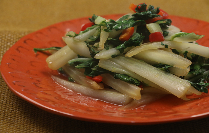 Spicy Bok Choy