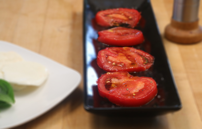 Caprese Salad by Early Morning Farm CSA