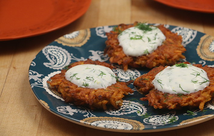 Carrot Fritters by Early Morning Farm CSA