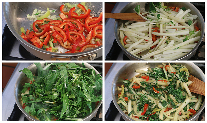 Sweet & Spicy Bok Choy