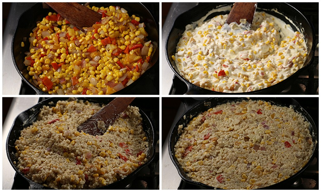 Rice, Corn, Pepper Casserole