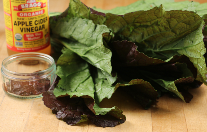 Chipotle Mustard Greens
