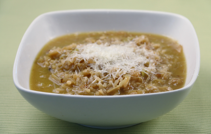 Marcella Hazan's Cabbage & Rice Soup