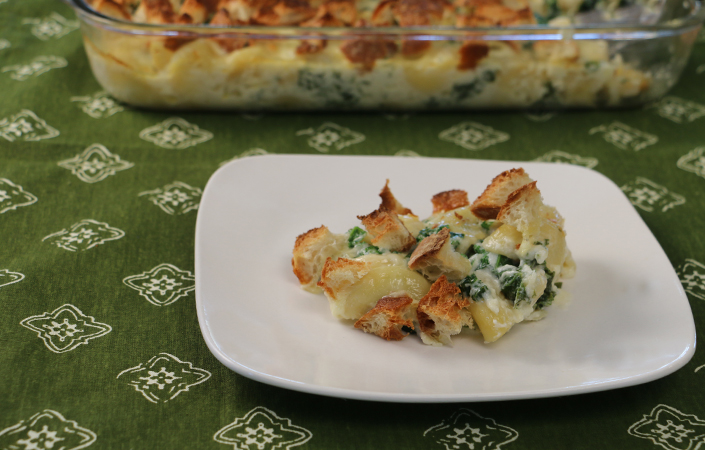 Kale Macaroni and Cheese