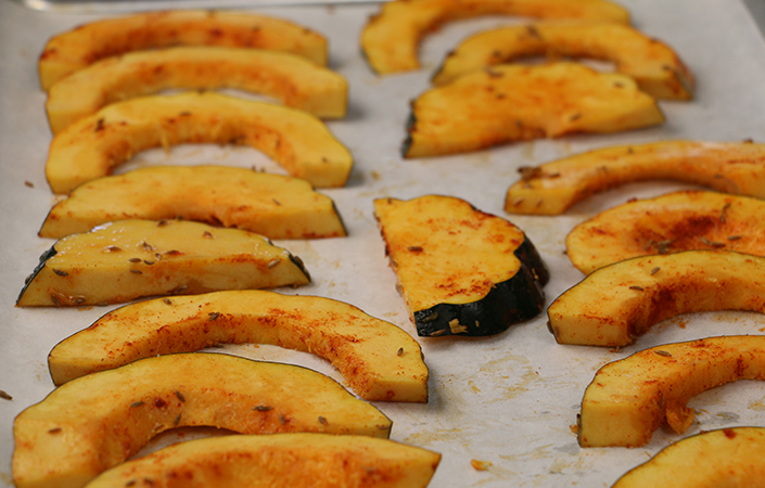 Savory Roasted Squash