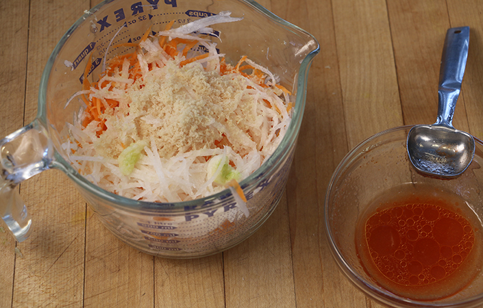 Carrot & Daikon Salad