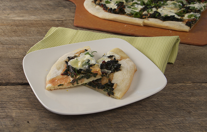 Swiss Chard Pizza