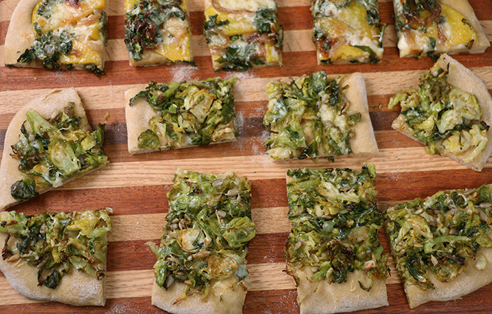 Vegetarian Fall Flatbread