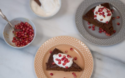 Gingerbread Cake with Butternut Squash & Apple