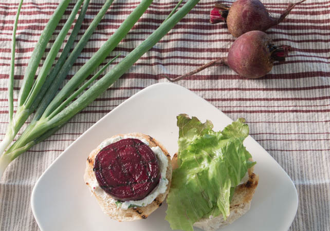 Grilled Beet Sliders