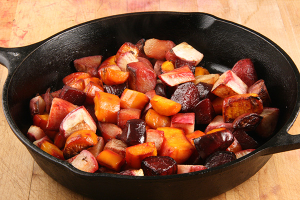 Basic Roasted Root Vegetables