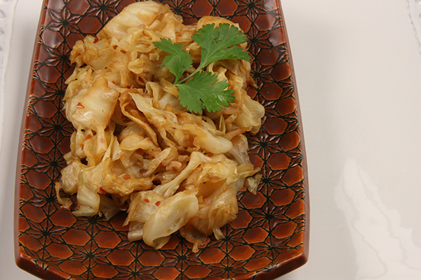 Spicy Braised Cabbage