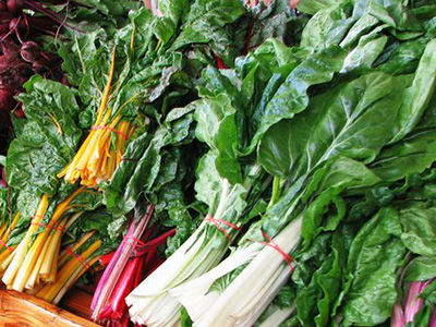 Ginger and Cumin Swiss Chard