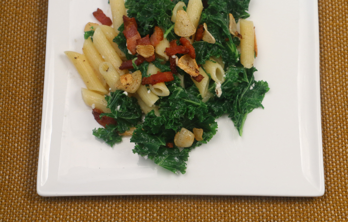 Garlic Kale Pasta