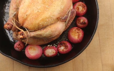 9 Vegetables You Can Roast Under a Chicken