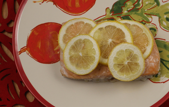 Simple Lemon Salmon