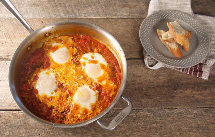 Heirloom Tomato Shakshuka