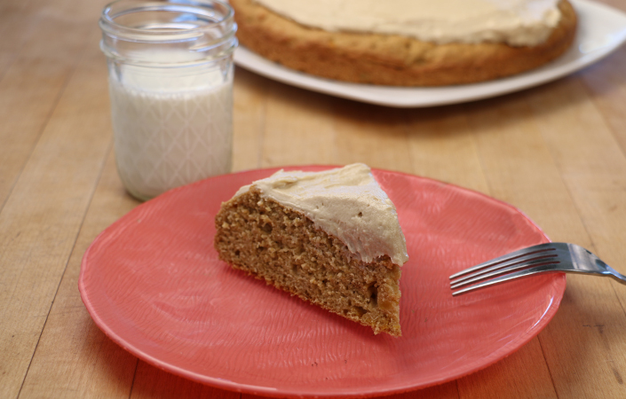 Butternut Squash Cake with Brown Sugar Cream Cheese Icing