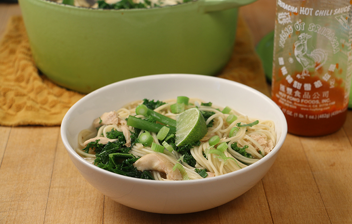Turkey & Kale Pho