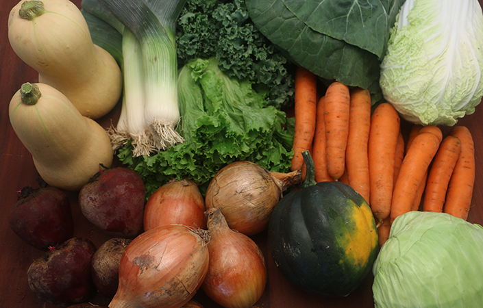 2014 Winter CSA Share Boxes